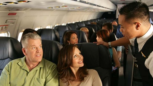 Comfort factors: Passengers now have more wiggle room when flying with Allegiant Air.