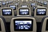 TV screens on the new Airbus A350 XWB.