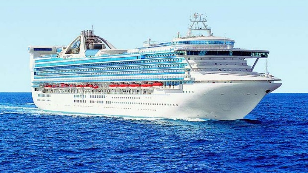 The Golden Princess will be the only cruise ship based in Melbourne over the 2015-2016 summer.
