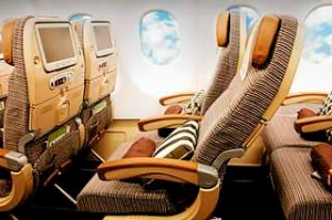 flight test, review by Flip Byrnes. Economy class Etihad. Abu Dhabi - Sydney. Supplied