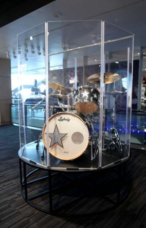 Ringo's drum set.