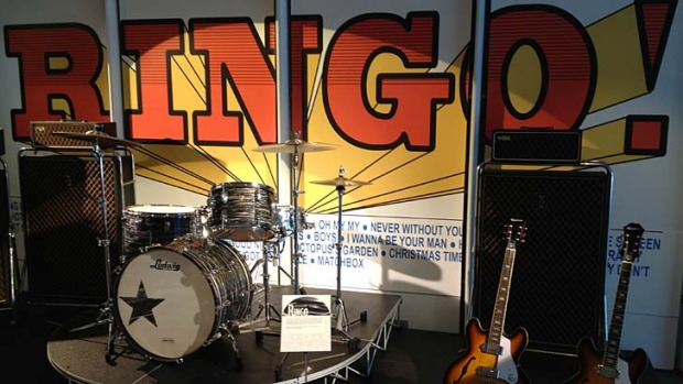 <em>Ringo: Peace & Love</em> exhibition at The Grammy Museum.