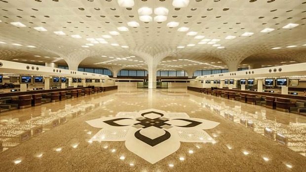 The new T2 at Mumbail Airport.