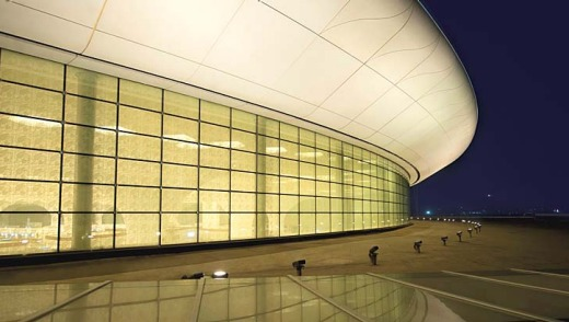 T2 terminal: where modern art meets ancient art from around India.