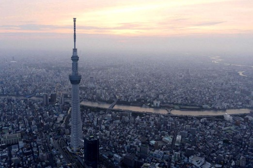 Take in the view from Tokyo Skytree: As the sun sets, there?s no better place to take in the enormity of Tokyo by night ...
