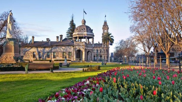 Bendigo has moved up the list of hippest places around.