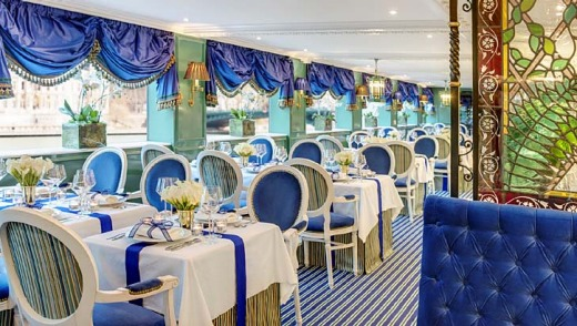 Restaurant on the SS Catherine.