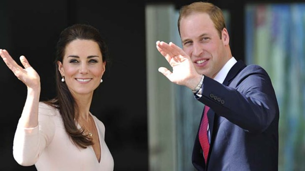 Long association: Prince William and the Duchess of Cambridge follow in the footsteps of past and present royals.