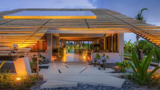 Open-air lifestyle: Komune Resort is modelled on a Balinese village.