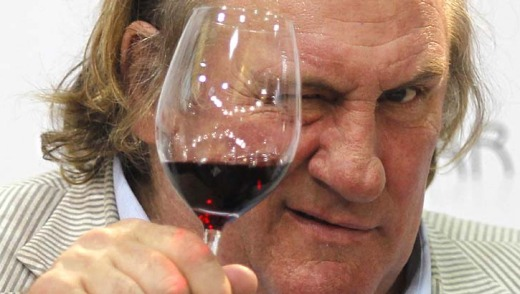 Uncontrollable urges: French actor Gerard Depardieu urinated on himself aboard a Paris to Dublin flight in 2011.