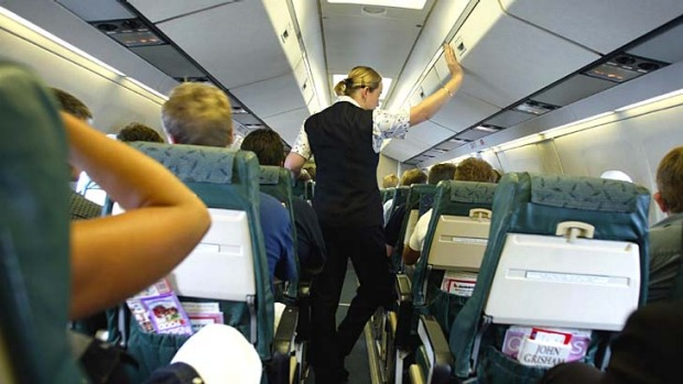 Let them do their job: Flight crews are well trained to deal with drunk, aggressive and paranoid passengers.