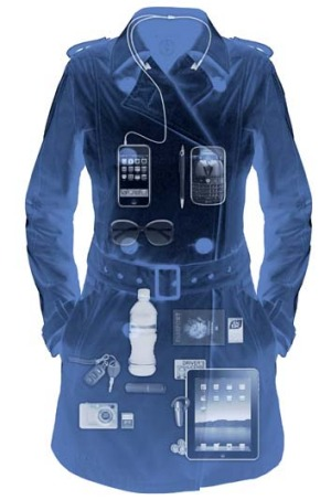 More gadgets in your pocket: Scottevest's trench coat.