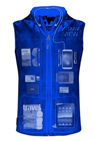 The new Quest vest has 42 pockets to meet your travelling needs.
