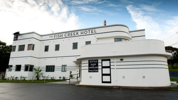 Gippsland brothers Simon and Terry Peavey bought the old art deco Fish Creek pub recently and have given the old girl a ...