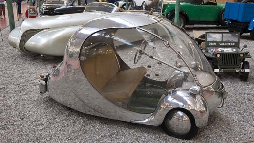 Creative sparks: Electric egg car, from 1942.