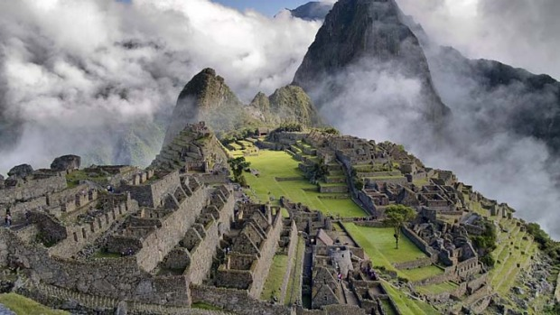 Cloud city: Machu Picchu.