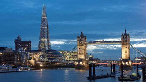 The Shangri-La hotel occupies levels 34 to 52 of The Shard.
