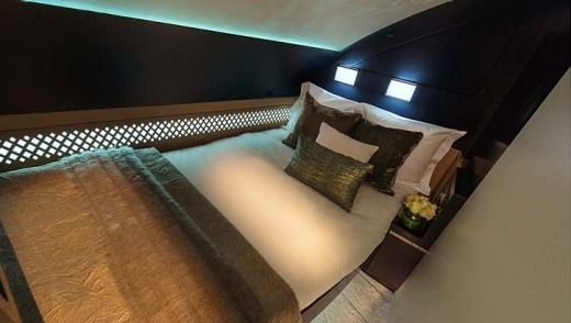 """""""The new living spaces on our A380s will raise inflight product and service standards to the highest level ever in ..."""