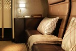 Etihad Airways' new 'residence' class on board its Airbus A380 superjumbo.