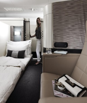 Etihad first class apartment.