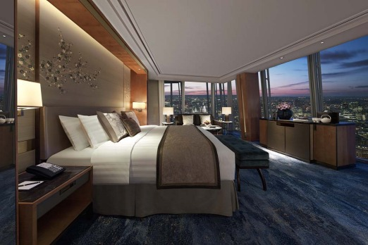 Shangri-La Hotel at The Shard, London.