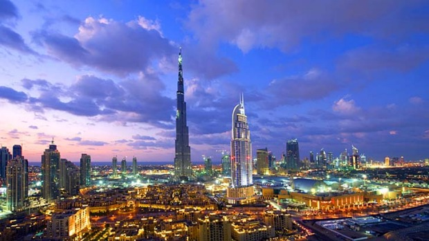 High ambition: Dubai is already home to the world's tallest building, the Burj Khalifa skyscraper.