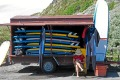Maid in the shade: Surf Dames hosts luxury surf camps at Raglan in New Zealand.