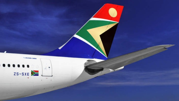 South Africa Airways: the Rainbow Nation's carrier is surprisingly colourless.