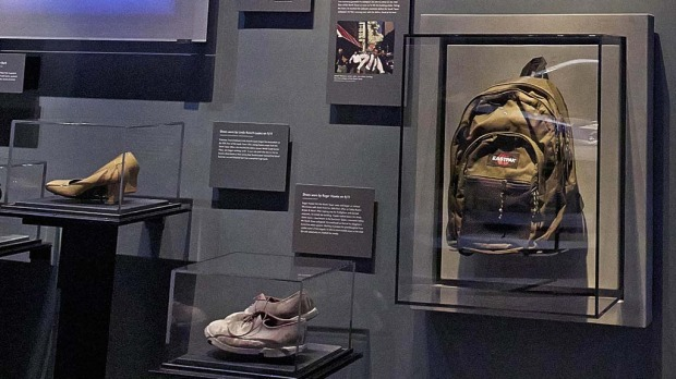 Items on display at National September 11 Memorial Museum.