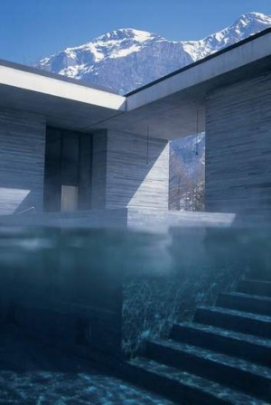 Therme Vals, Switzerland.