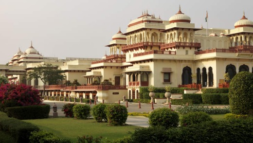 Rambagh Palace, India.