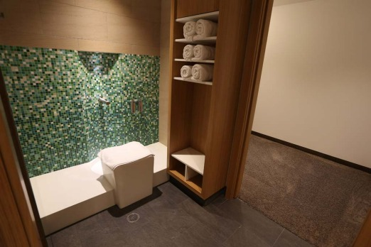 The prayer room in Etihad's First and Business Class Lounge at Sydney?s Kingsford Smith International Airport.