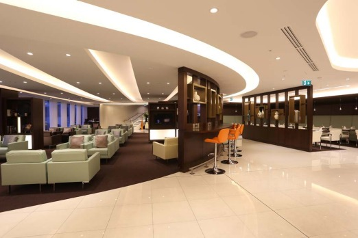 Etihad's new First and Business Class Lounge at Sydney?s Kingsford Smith International Airport.