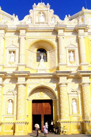 Colonial heritage doesn't go amiss: The Sacatepequez in Antigua, Guatemala.