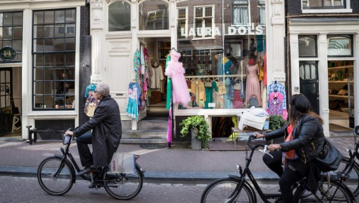 Streets ahead: The Nine Street area is renowned for its concentration of Dutch designers