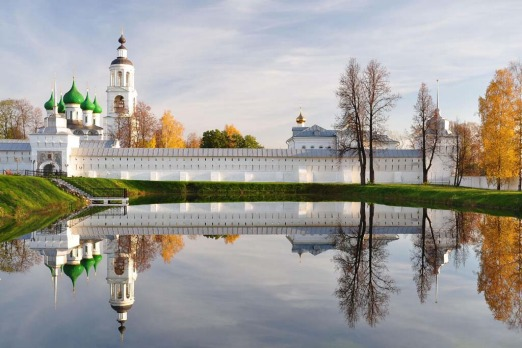 Picturesque beauty: Yaroslavl's Tolga monastery in Russia.