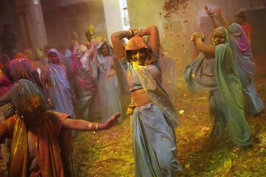 India can be beautiful and it can be ugly, but its never without colour and celebrations.