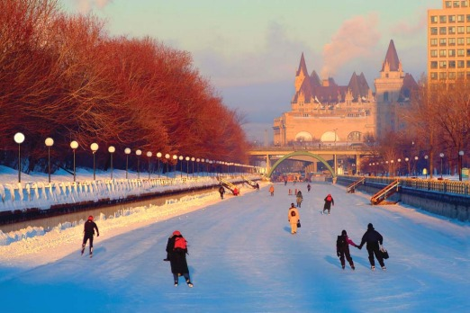 Picture wonderland: Canada is packed with photographic opportunities especially when leaves turn orange and snow starts ...