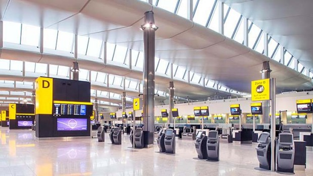 "The new Terminal 2 is said to ""completely change the balance"" in airport efficiency."