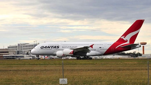 Qantas has ordered 20 Airbus A380s.