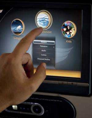 Entertainment: 192 movies and 200 TV shows are available on Oman Air.