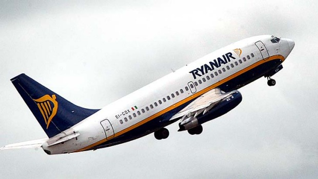 An 'attempt to blackmail ordinary consumers with strikes': Ryanair was forced to cancel 96 flights on Tuesday.
