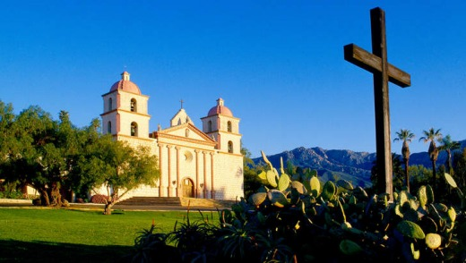 Heritage: The Santa Barbara Mission dates from 1786.
