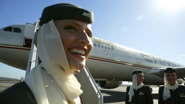 Etihad Airways in Australia.