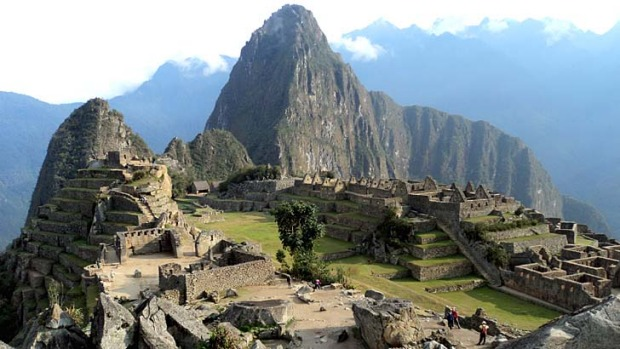 Top choice: This 15th-century Inca site was voted the number one landmark in the world by travellers.