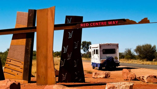 Red Centre Way, Central Australia, Northern Territory.
