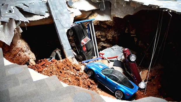 The sinkhole that swallowed eight cars at the Skydome showroom will be the latest attraction at the Kentucky museum.