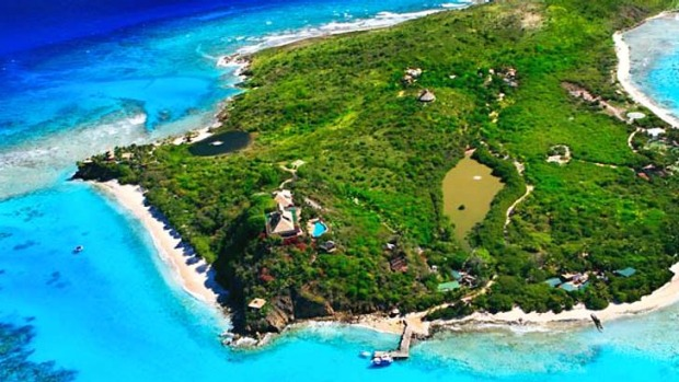 Necker Island: Richard Branson's private paradise.