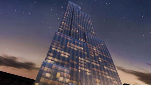 Manhattan's newest five-star resident: The Park Hyatt New York.