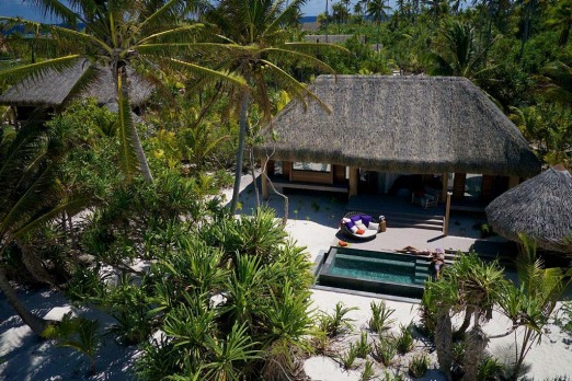 Luxury villa at The Brando.